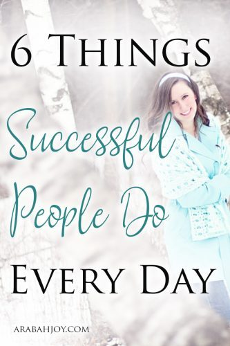 A friend recently told me about a book she is reading on what successful people do every day. Here's what they are and how routines can make a huge impact in your life.