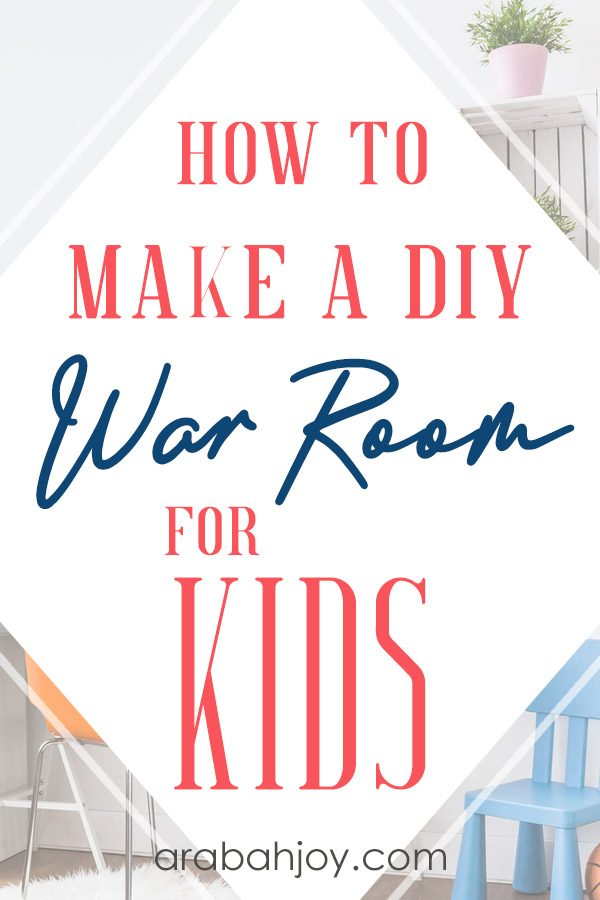 If you're creating a prayer room for your kids, you'll want to use these simple DIY tips. Help them understand the war room meaning & create a space where they can go to pray.