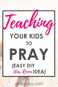 Use these tips to learn how to create a war room for your kids. Help kids understand war room concept and get set up to pray for the needs that are important in their lives.