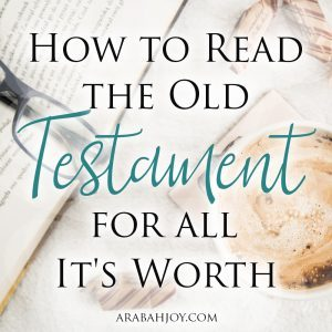 Do you struggle to read the Old Testament? Do you long to see and savor Christ in the Old Testament? How to read the Old Testament for all it's worth!