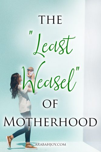 Don't feel disqualified for God's purpose by the demanding tasks of motherhood. Take this story to heart and learn the godly power behind your motherhood.