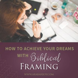 Use biblical framing to take your biggest problem and place it in the context of God's Word. Let God's promises be the catalyst for boldness to help you achieve your dreams!