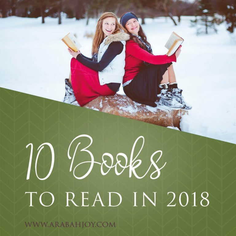 10 Fantastic Books to Read in 2018