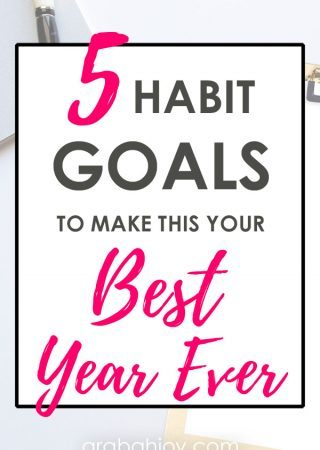 Use habit goals to make this your best year ever!