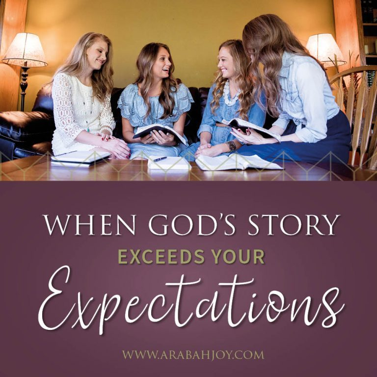 When God's Story Exceeds Your Expectations