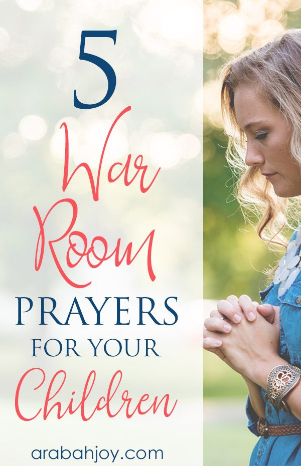 Fighting for Your Kids: 5 Scriptures Every Mom Should Pray