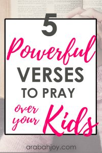 If you pray war room prayers for your children, be sure to grab our free war Scripture cards. These are Scriptures I use in prayer for my children.