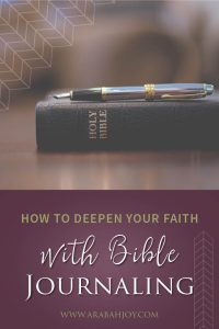 Bible journaling is a beautiful way to make your Bible reading come alive and deepen your faith. Check out these tips for how to start Bible journaling, and see some of my favorite Bible journaling resources. #Biblejournaling #Biblestudy