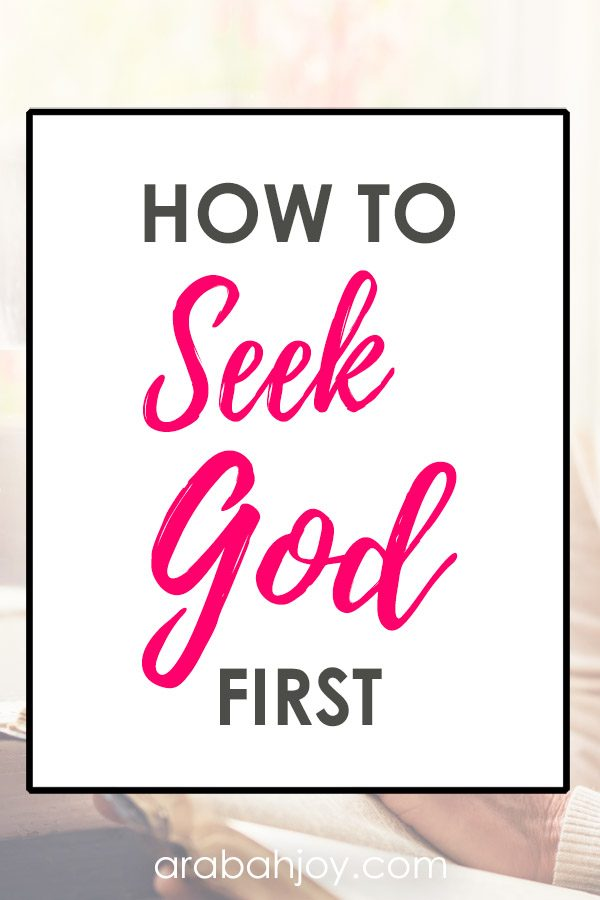 Learn how to seek God first and go from mediocre in your walk with the Lord, to being a passionate Christian.