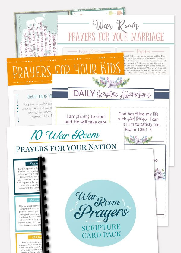 image about I Said a Prayer for You Today Printable named 10 War Space Scriptures for Your War Area Prayer Procedure
