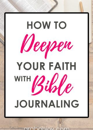 Bible journaling is a beautiful way to make your Bible reading come alive. See some of my favorite Bible journaling resources and learn how to deepen your faith with Bible journaling.