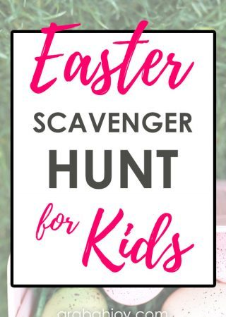 Easter Scavenger Hunt for Kids - use this scavenger hunt to celebrate the Easter story with your kids