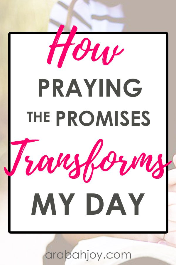 "See how praying the promises of God each morning transforms my day, and learn how you can say ""amen"" to the promises of God's Word."