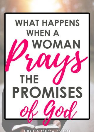 Check out our resource - 40 days of praying God's promises!