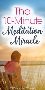 Do you meditate on Scripture? Try these biblical meditation exercises in your quiet time. Try this 10-minute meditation miracle.
