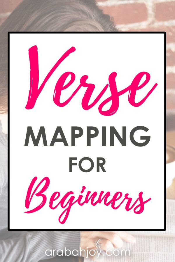 Do you know how to do verse mapping? Learn how to unlock the Scriptures with this Bible study method - perfect for beginners.