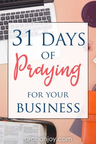 Use our 31 ways to pray for your business to learn how to pray for business breakthrough.
