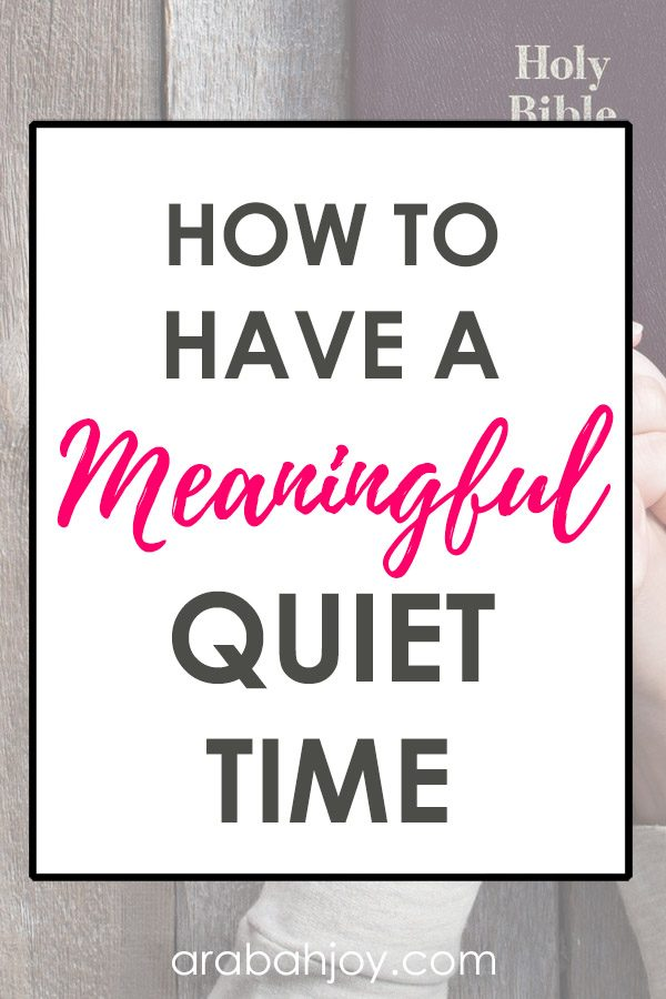 You've heard that having a quiet time with God is a key spiritual discipline but what exactly does it mean to have a quiet time? Read these 10 principles for how to have a meaningful quiet time with the Lord.