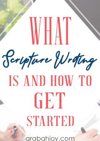 People ask me what Scripture writing is. If you've ever wondered that, learn how to get started with Scripture writing. Be sure to download the free Scripture writing plan.