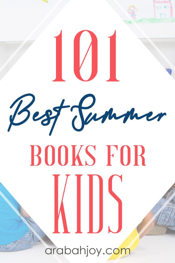 Check out our list of 101 best summer reads for kids. Keep your kids in books this summer!