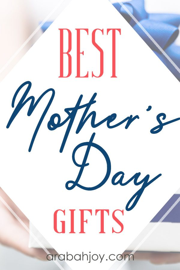 Do you stress over what to get the mothers in your life? This year I decided to brainstorm a list of Mother's day gift ideas. Which would you choose for the moms in you life?