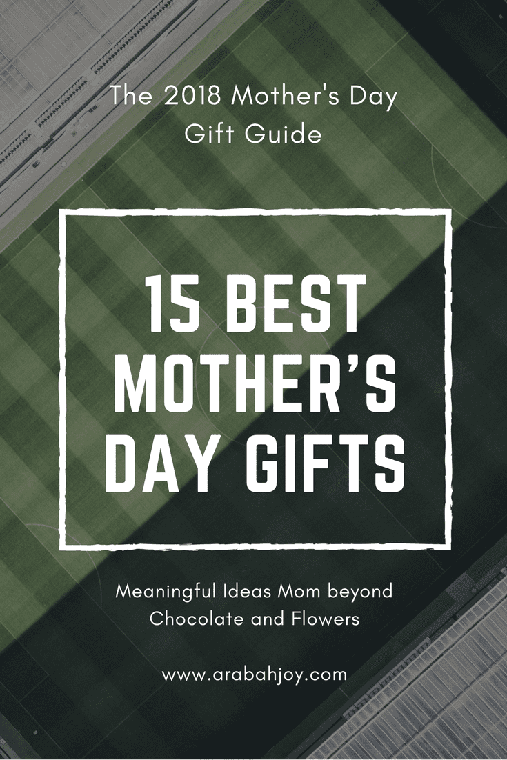 Every Mother's day I stress over what I'm going to get my mom and MIL. This year I decided to brainstorm a list of mother's day gift ideas in advance. Which would you choose for your mom?