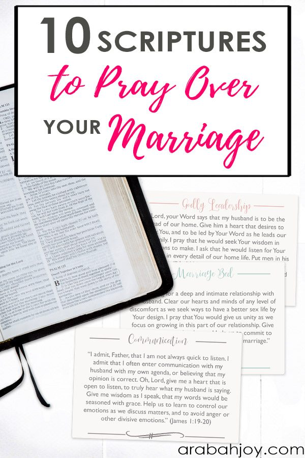 Are you ready to do battle in prayer with a more focused time of prayer for your marriage & spouse? Use these 10 war room Scriptures to pray for your marriage.