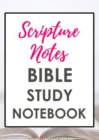 Use the Bible study templates to help create your Bible