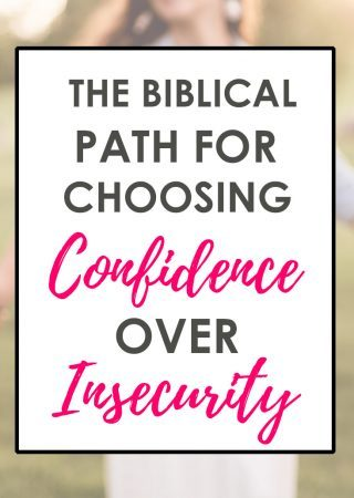 Need a biblical path for overcoming insecurity and becoming a woman of confidence? Here's a 31 Day Scripture Reading plan for Overcoming Insecurity.