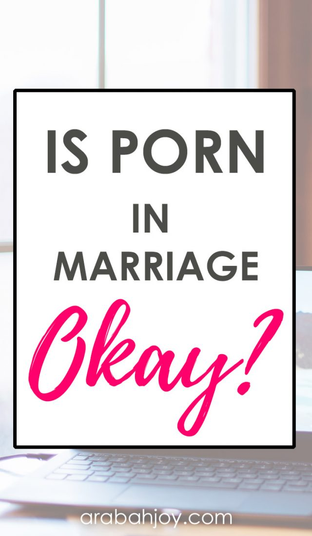 """Have you ever wondered about the use of porn in Christian sex and marriage? We're tackling the question, """"Is porn in marriage ok?"""""""