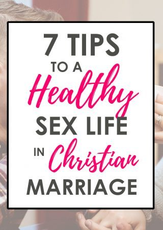 Use these 7 tips to promote a healthy Christian sexuality in your marriage. Our Christian sex series is full of practical tips that will benefit a marriage!