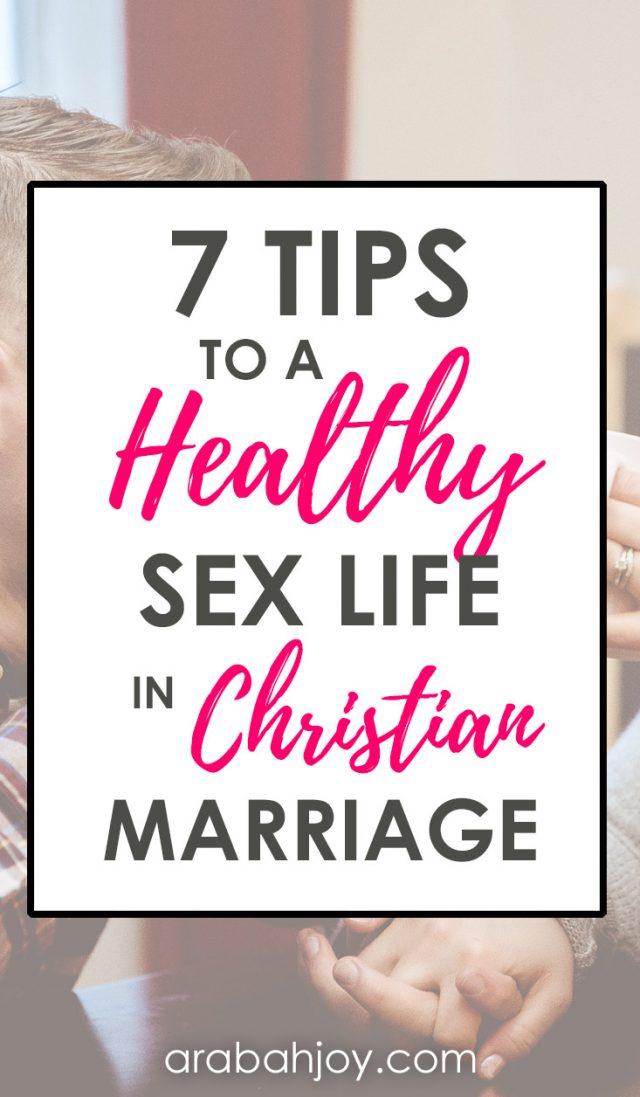 Christian sex tips