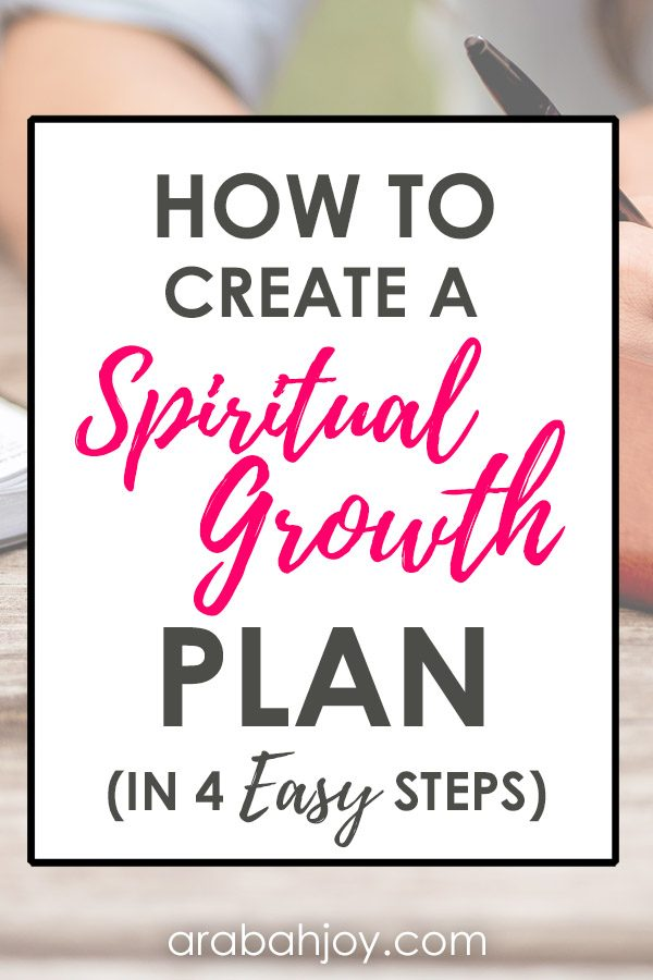 How to Create a Spiritual Growth Plan in 4 Easy Steps