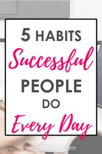 Try these 5 habit goals to make this your best year ever.