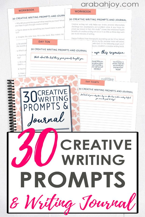 Do you know the importance of creative writing? Are you looking for creative writing prompts? Use this list of 30 creative writing prompts!