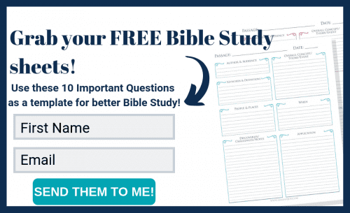 4 Simple Steps to Study the Bible