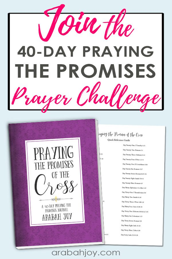 Join the praying the promises of the cross challenge