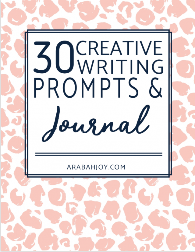 30 Creative Writing Prompts and Journal