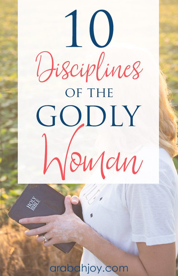 What are the disciplines of a godly woman? Use this Bible study on discipline & practice the discipline of stillness to learn more.