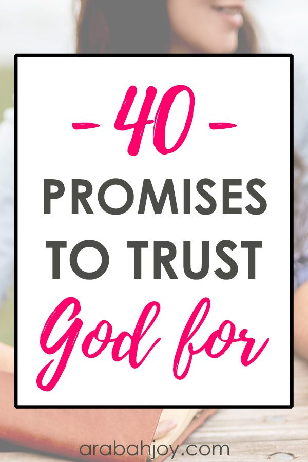 If you're ready to learn how to trust God, join us for this 40 day challenge focusing on praying the promises of God. All the promises of God are sure!