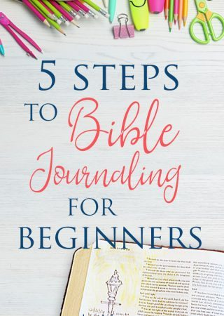 Have you considered Bible journaling but feel more like a non-artist Bible journaler? Here are 5 steps to Bible journaling for beginners- including ideas for digital Bible journaling pages.