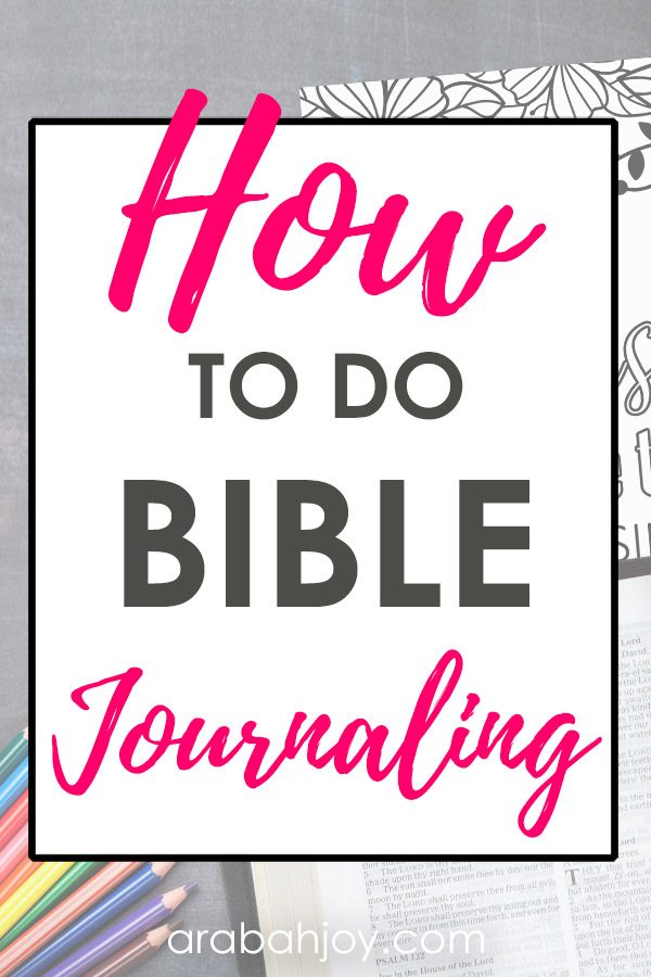 If you're learning how to do Bible journaling, you'll want to try these unique and easy ways to do Bible journaling. You can do Bible journaling in a number of different ways.