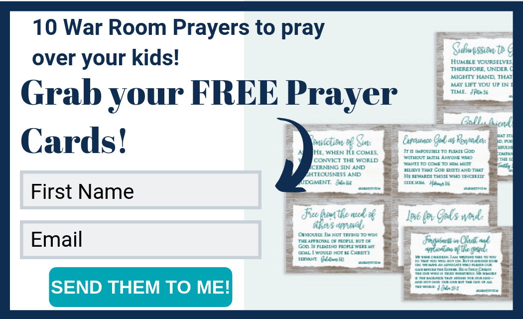 12 Daily Prayers for Your Kids