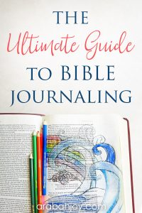 Are you new to Bible journaling? Use this Bible journaling glossary that serves to teach Bible journaling information that will help you feel more confident in trying Bible journaling.