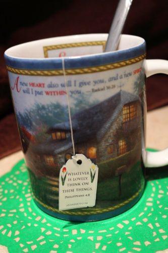 printable Scripture tea tag