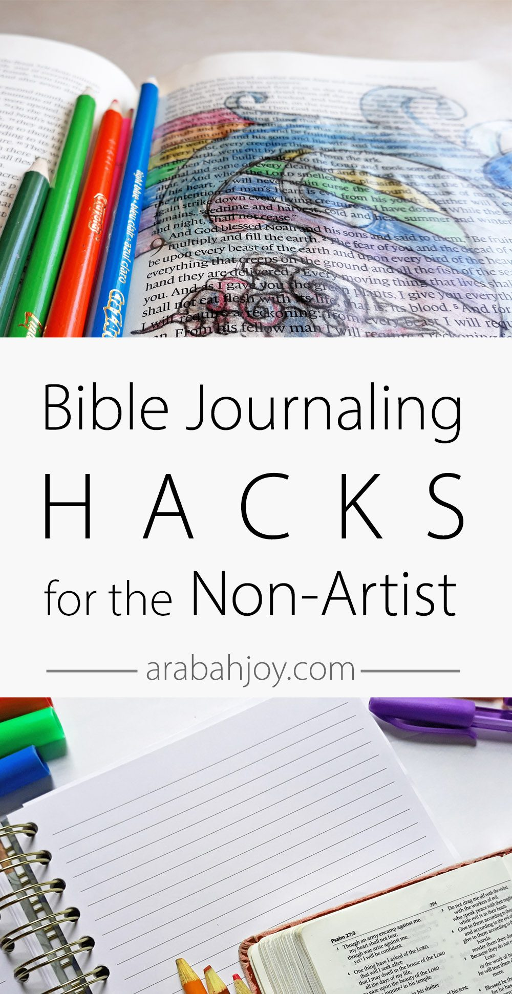 These Bible journaling tips for beginners will help you learn the art of Bible journaling. Be sure to grab your free Bible journaling kit!