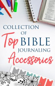 There are many Bible journaling supplies to choose from. We've gathered our list of favorites. We'll share which journaling Bibles we love, plus all our favorite Bible journaling accessories.
