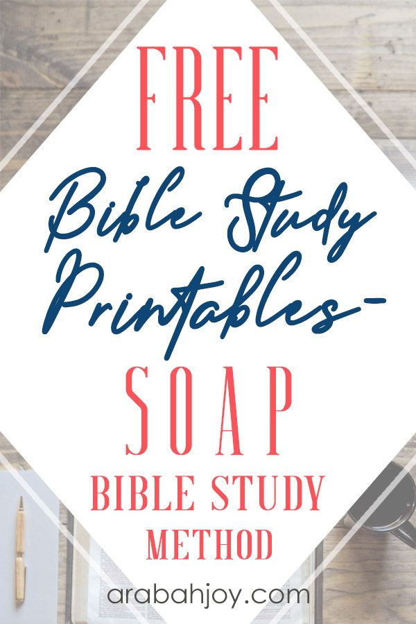 graphic regarding Soap Bible Study Printable identified as How in direction of Employ the Cleaning soap Bible Analyze Approach