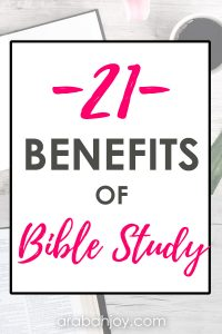 Do you know the importance of studying the Word of God? We're