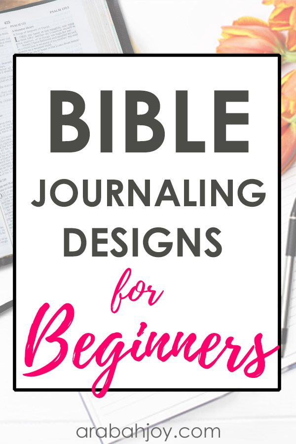 Do you enjoy drawing and journaling? Be sure to grab this simple flower design for journaling during your quiet time. #spiritualgrowth #Biblestudy #quiettime